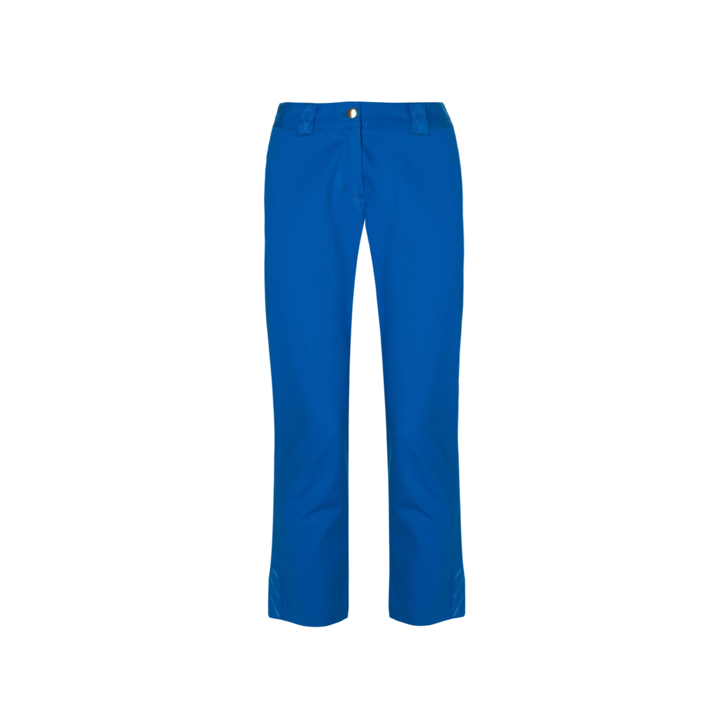 niebieskie spodnie damskie