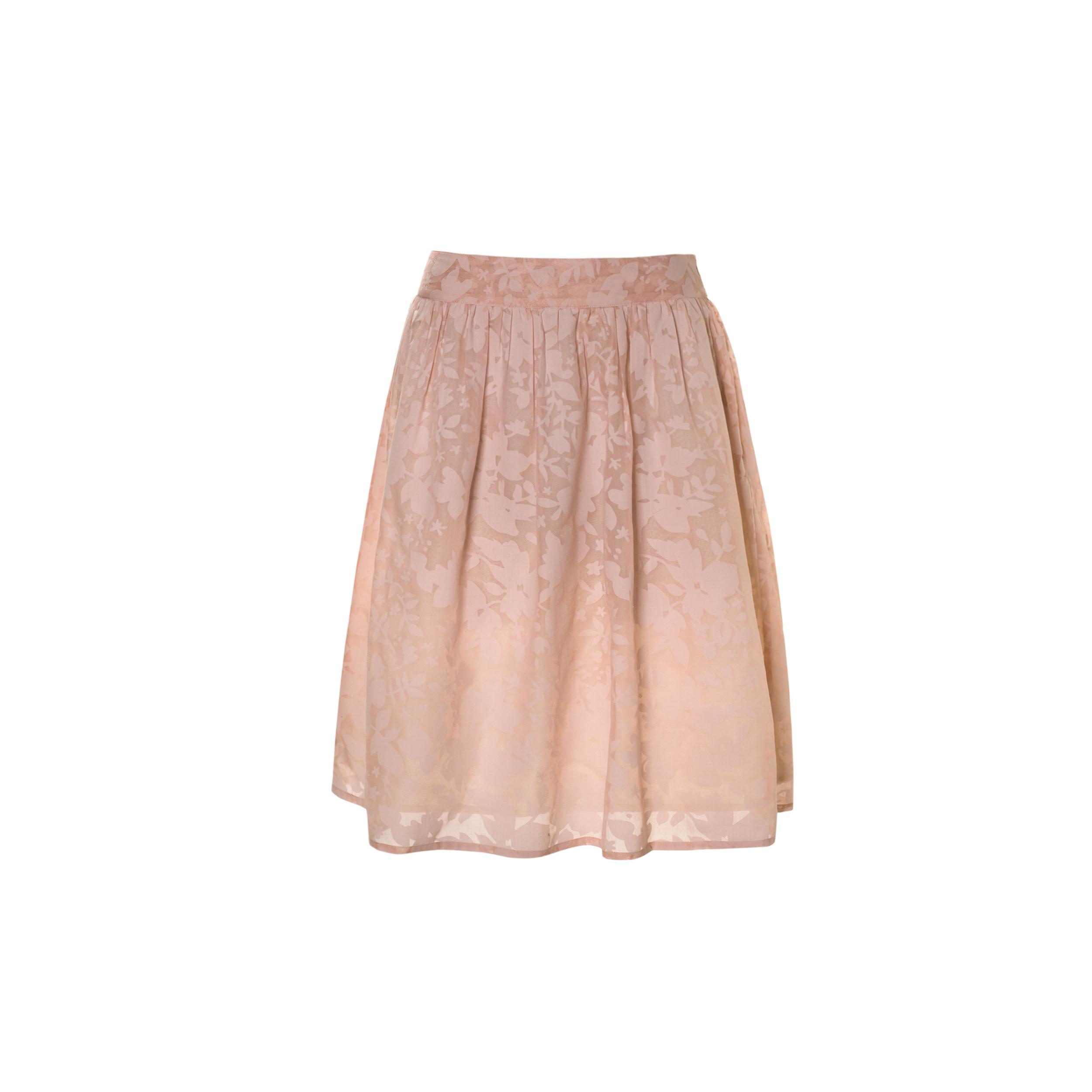 kremowa spódnica