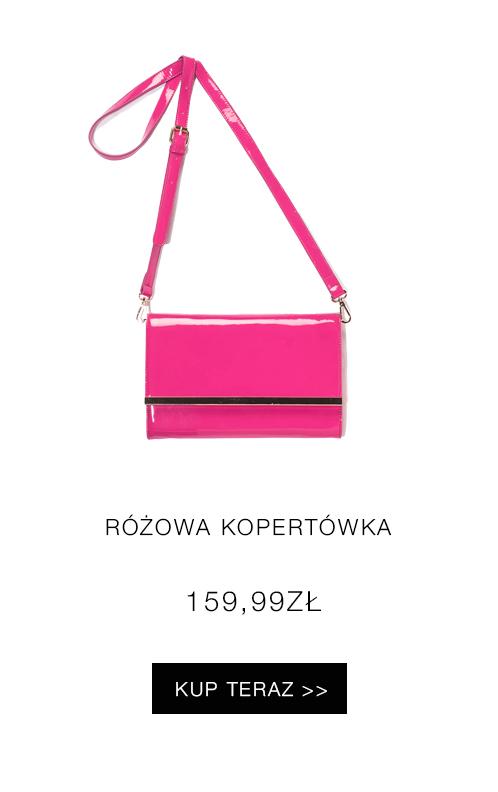 różowa kopertówka