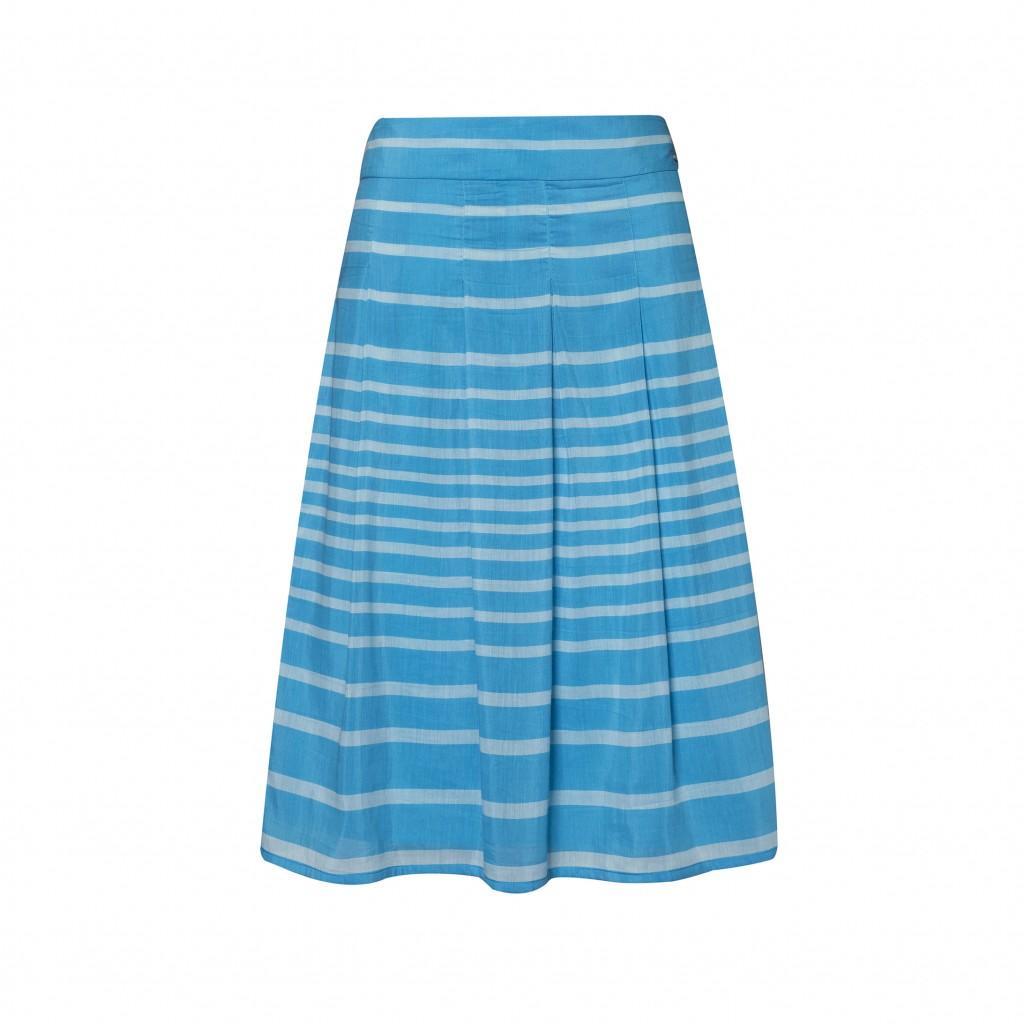 turkusowa spódnica