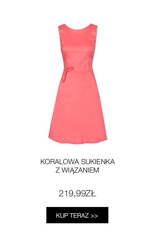 rozkloszowana-koralowa-sukienka-z-kokardka