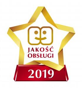 LOGO Gwiazda jakość obsługi 2019
