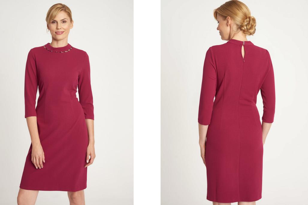 Dodatki Do Bordowej Sukienki Te Kolory Najlepiej Pasuja Blog Quiosque