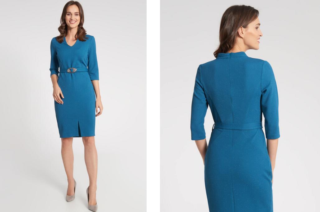 Niebieska Sukienka Dodatki Ktore Idealnie Pasuja Blog Quiosque