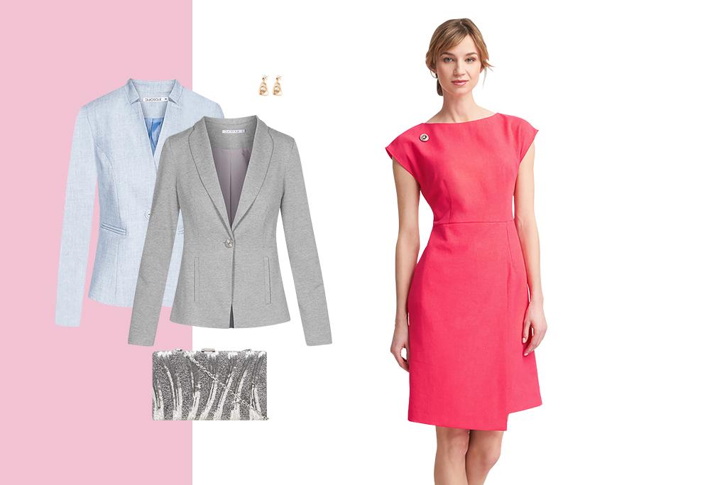Dodatki do malinowej sukienki – sprawdź, jakie dobrać | Blog