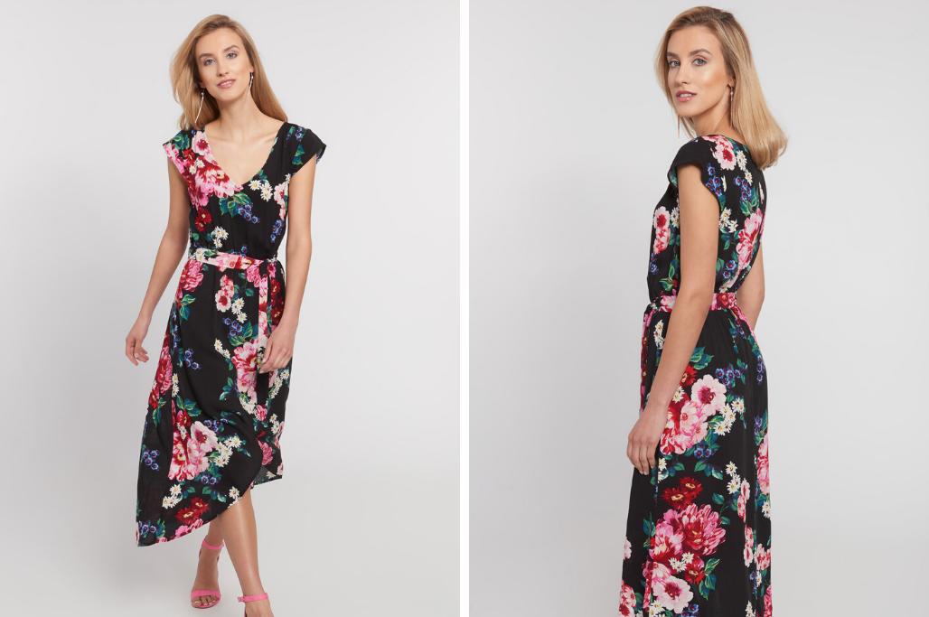 Sukienka W Kwiaty Wpusc Troche Wiosny Do Swojej Szafy Blog Quiosque