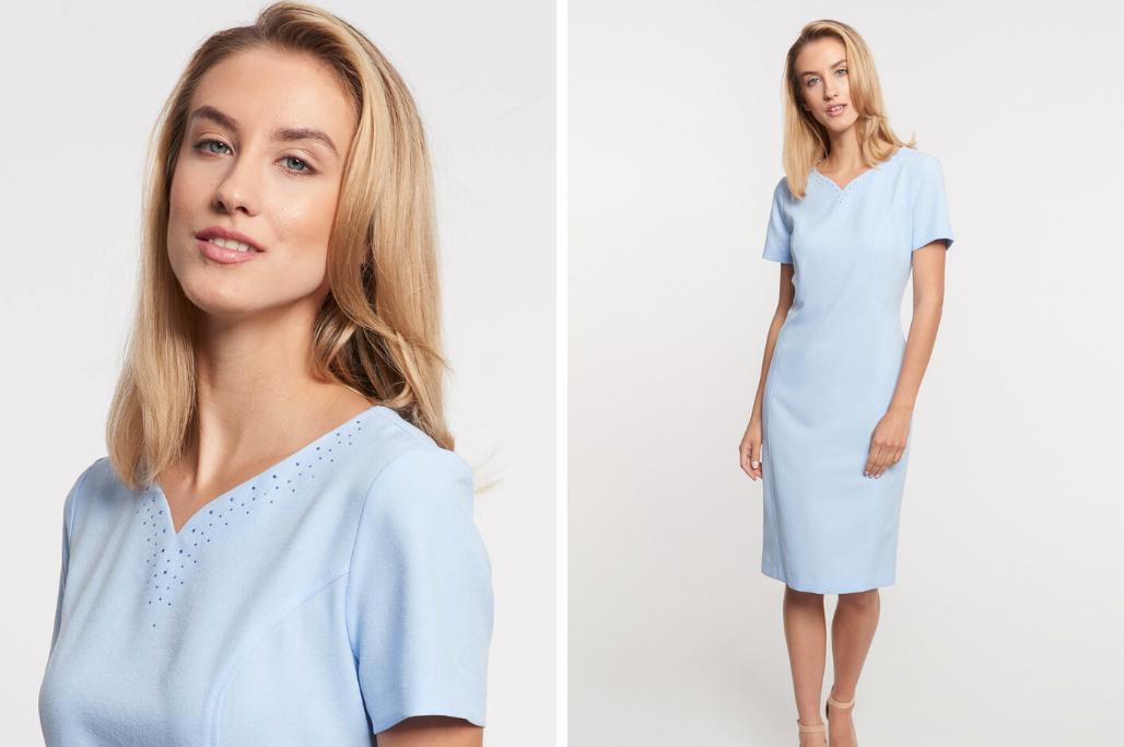 Jakie Paznokcie Do Niebieskiej Sukienki Podpowiadamy Blog Quiosque