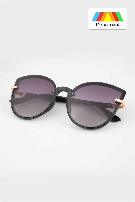 Czarne okulary z filtrem UV 400