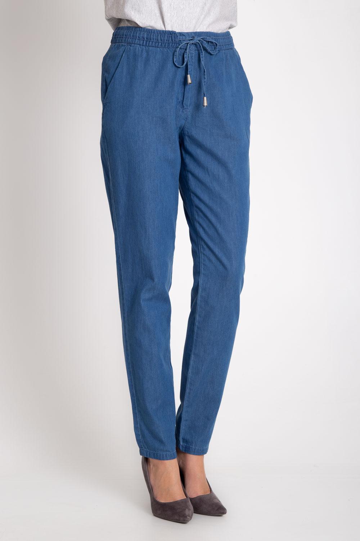 Niebieskie spodnie z gumk± w pasie