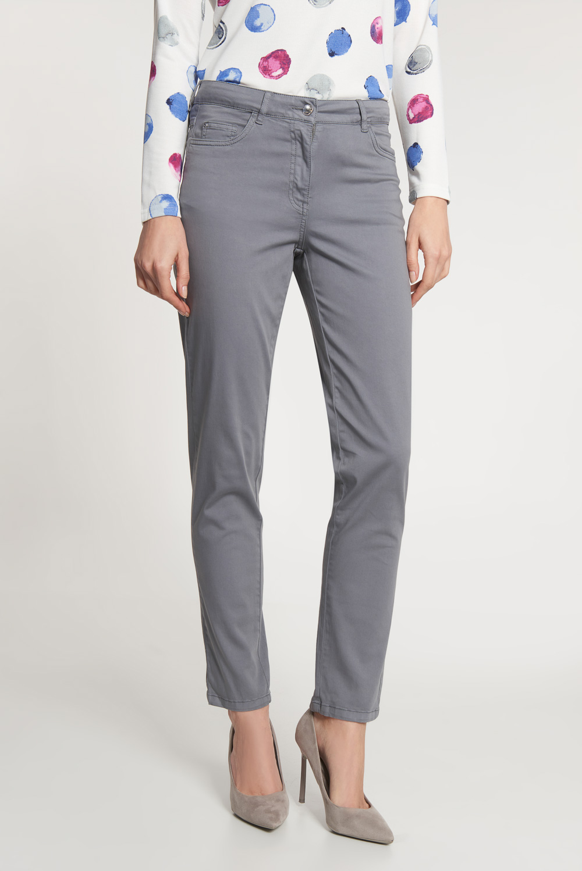 Szare spodnie z prost± nogawk±