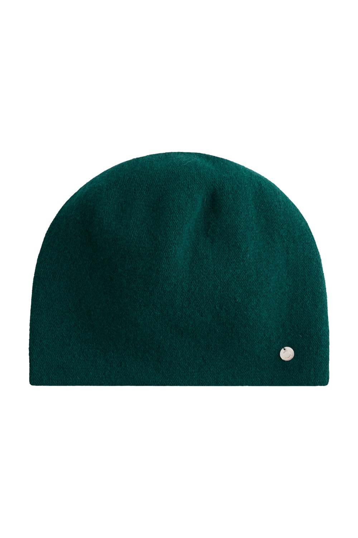 Zielona g³adka czapka