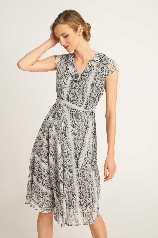 Zwiewna sukienka z wi±zaniem